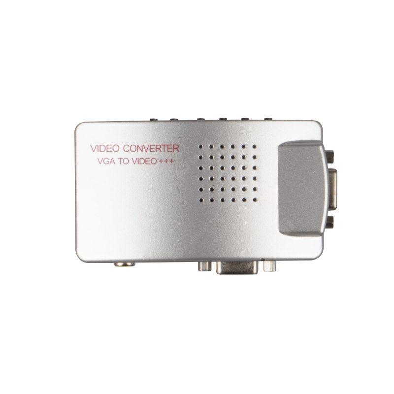تبدیل VGA به AV جعبه نارنجی