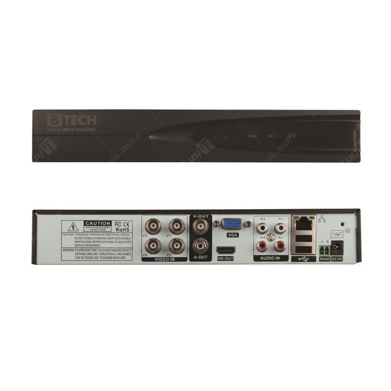 دی وی آر 4کانال AHDکیفیت1080NبرندB-TECH مدلV2-4004