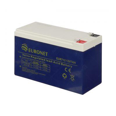 باتری12ولت 7 آمپر برند EURO NET - 2020
