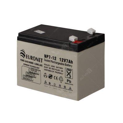 باتری ۷ آمپر برند EURO NET – 2020