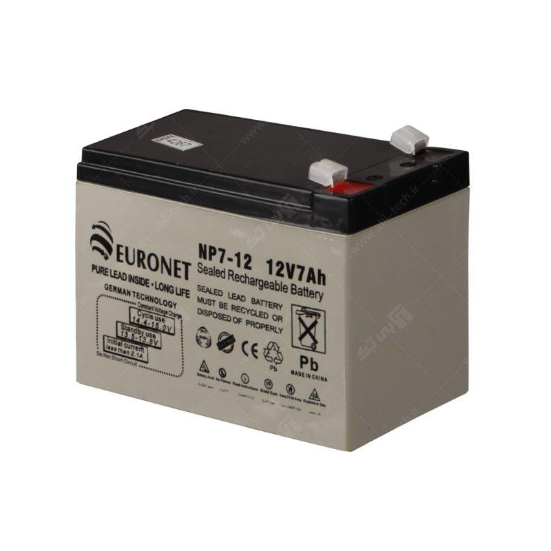 باتری 7 آمپر برند EURO NET - 2020