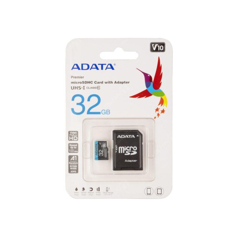 Micro Sd Card رم - 32GB برند A DATA