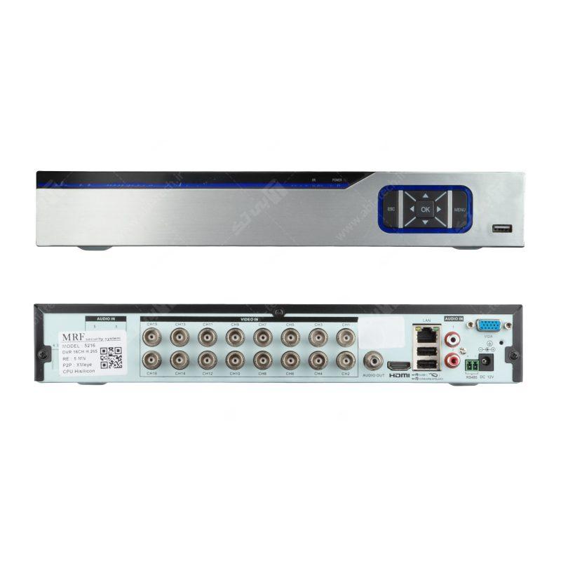 دستگاه 16 کانال AHD کیفیت 5MP مدل5216