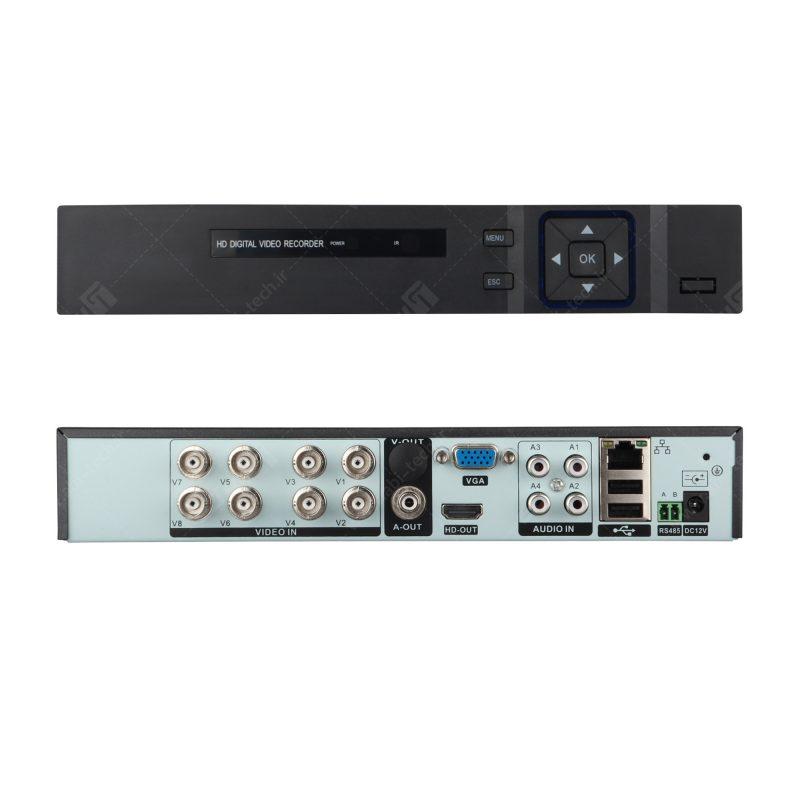 دستگاه 8 کانال AHD کیفیت 1080N مدل KX-3808
