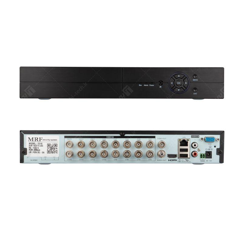 دستگاه 16 کانال AHD کیفیت 2MP مدل2216