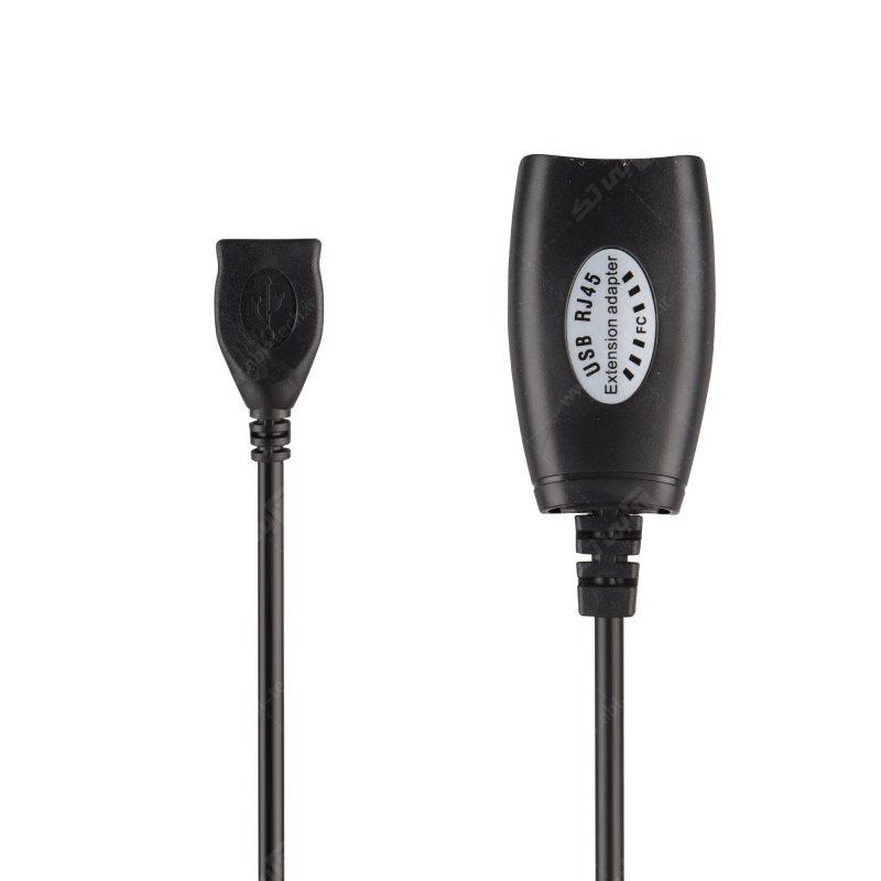 دستگاه افزایش طول USB با کابل شبکه مدل RJXT