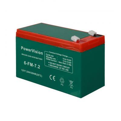 باتری ۷/۲ آمپر مدل Power Vision